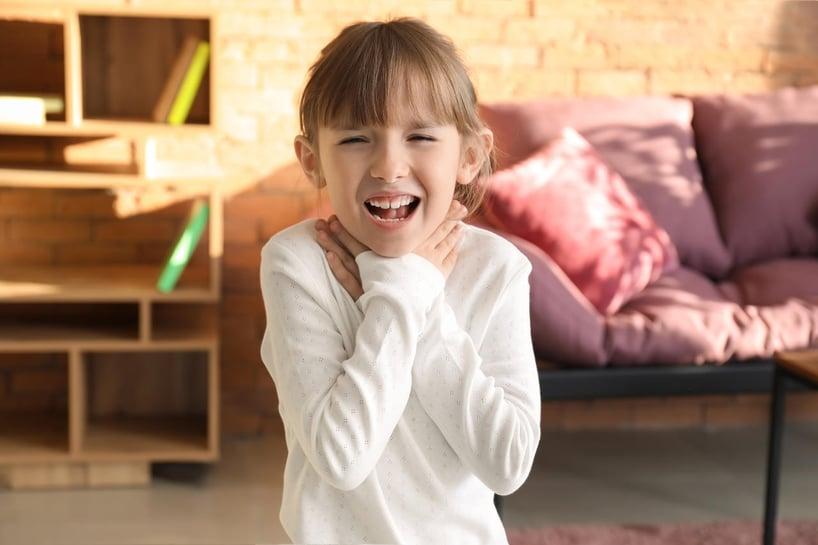 Atak astmy u dziecka